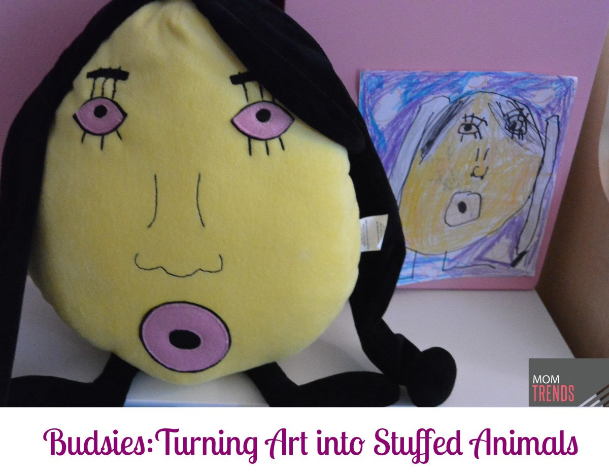 Budsies Turns Kids Art into Stuffed Animals