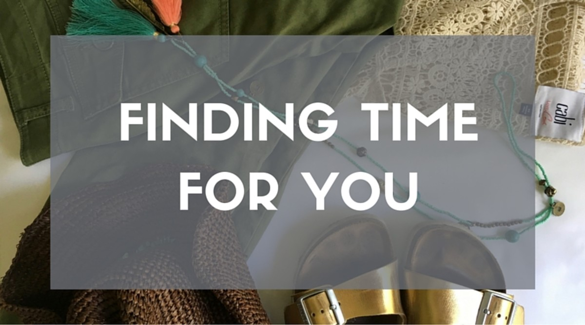 FINDING TIME FOR YOU