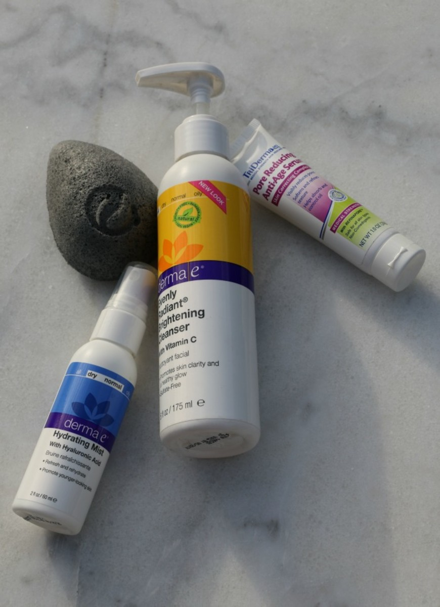 face brightening products
