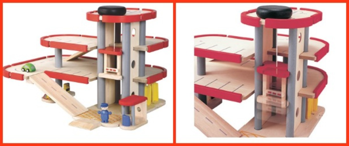 Plan Toys for the Holidays MomTrends – Plan Toy Garage