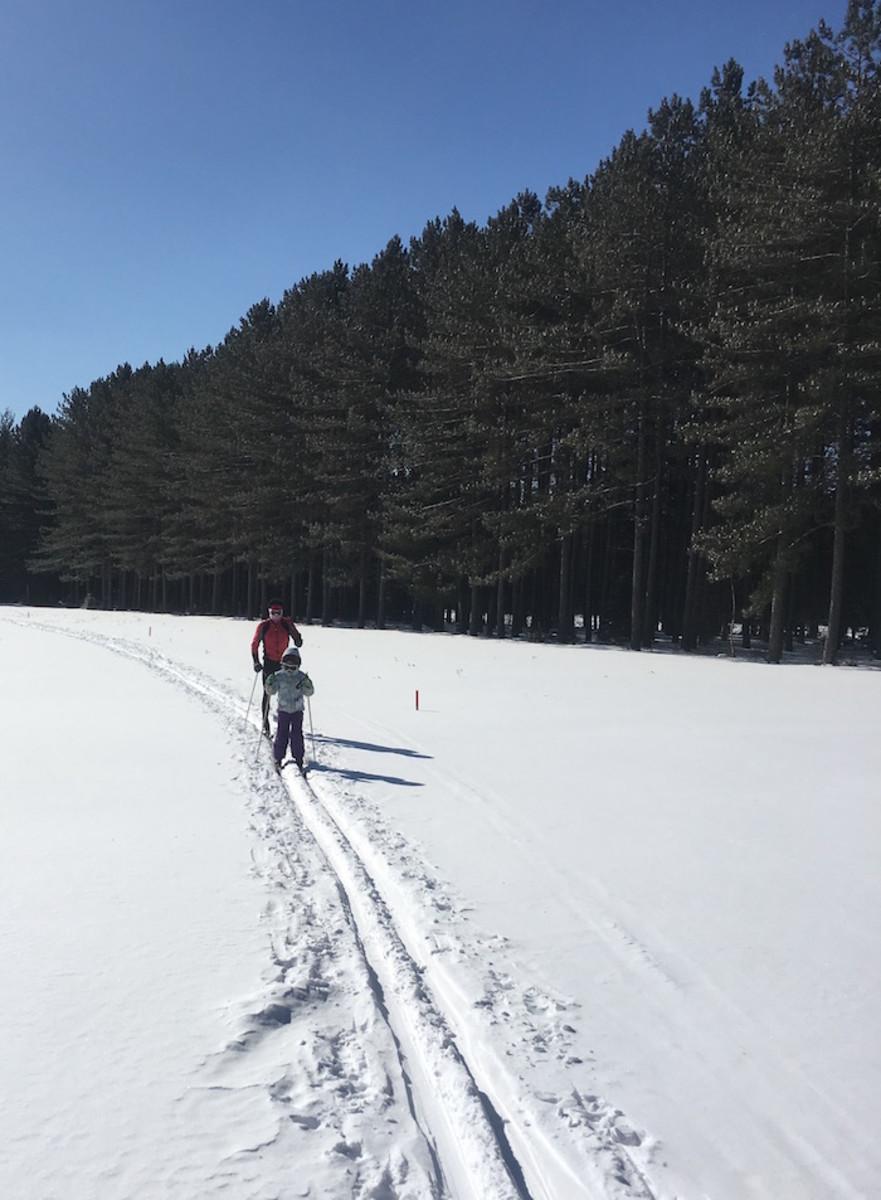 Le fond du ski mont tremblant