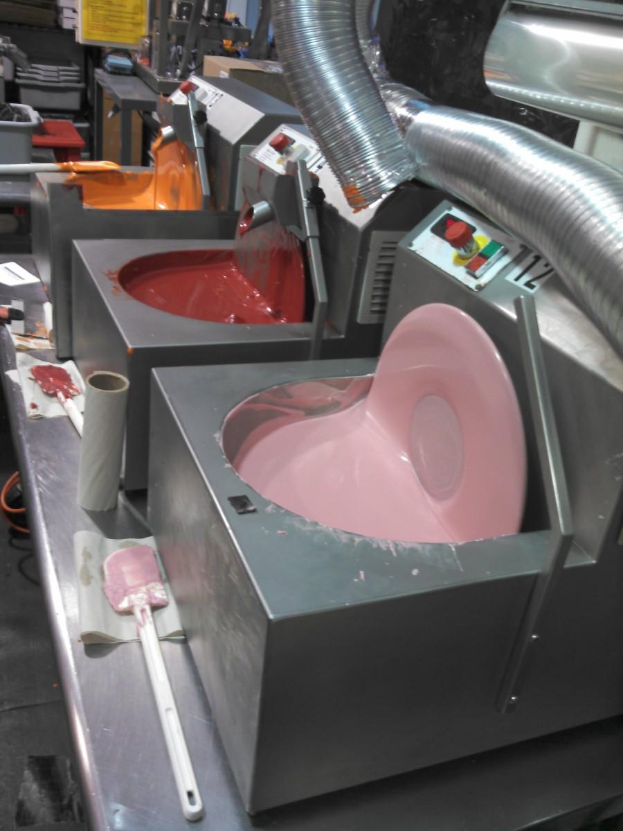 chocolate vats