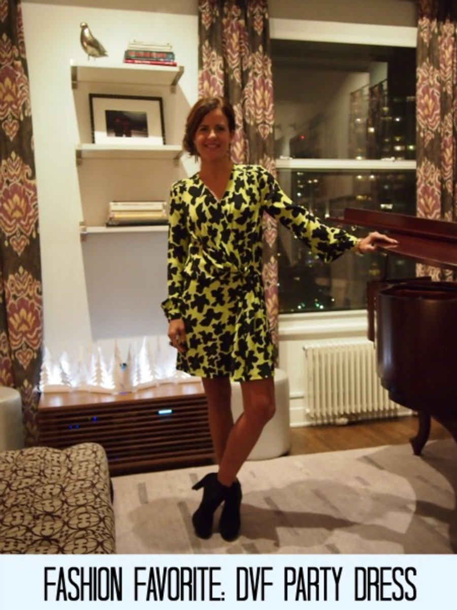 DVF party dress