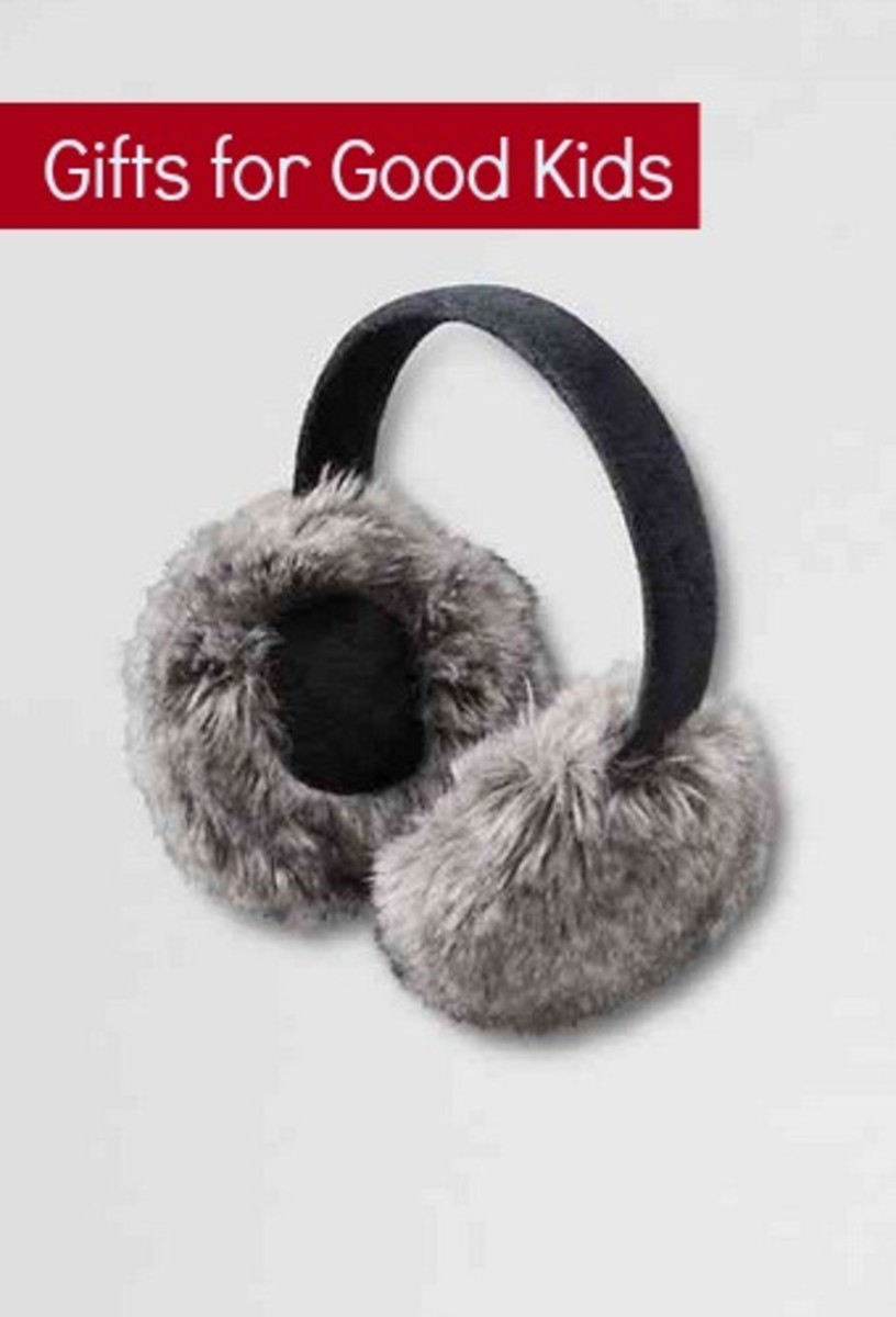 faux fur ear muffs