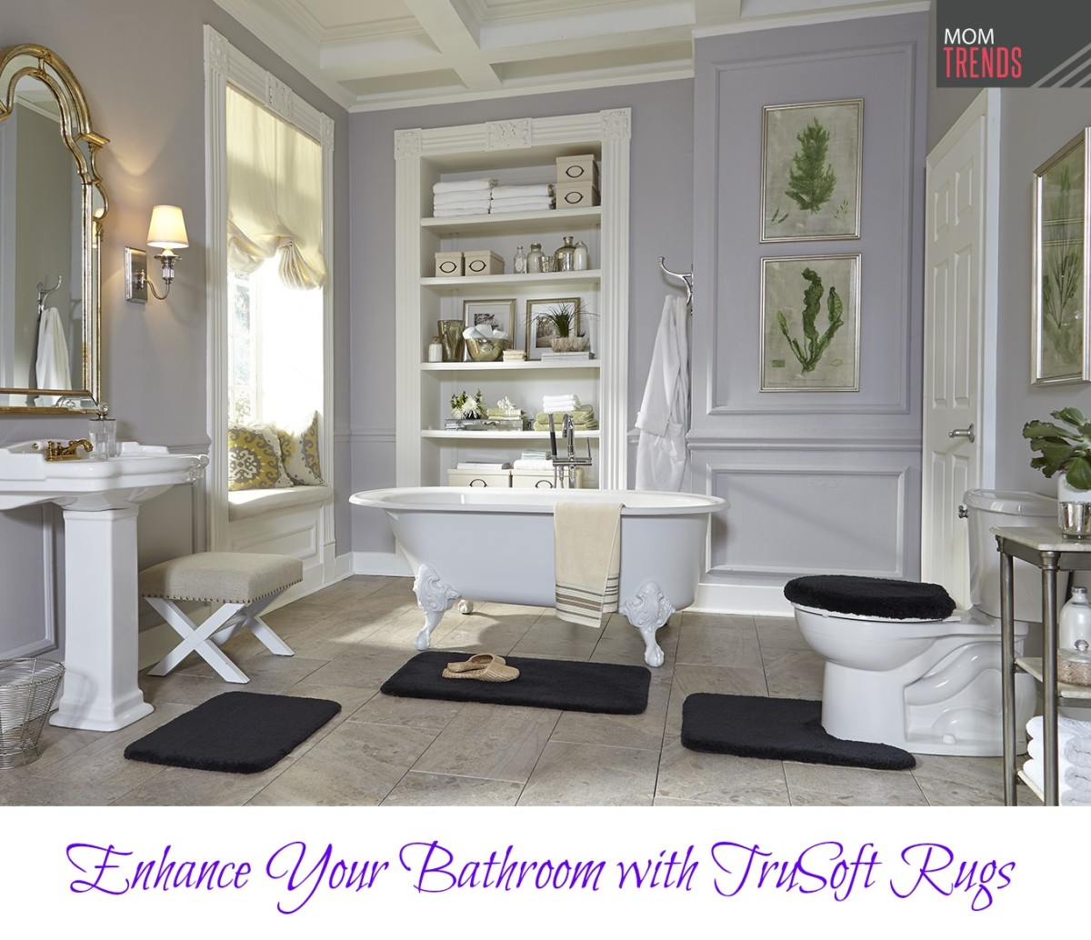 Enhance Your Bathroom with TruSoft Rugs