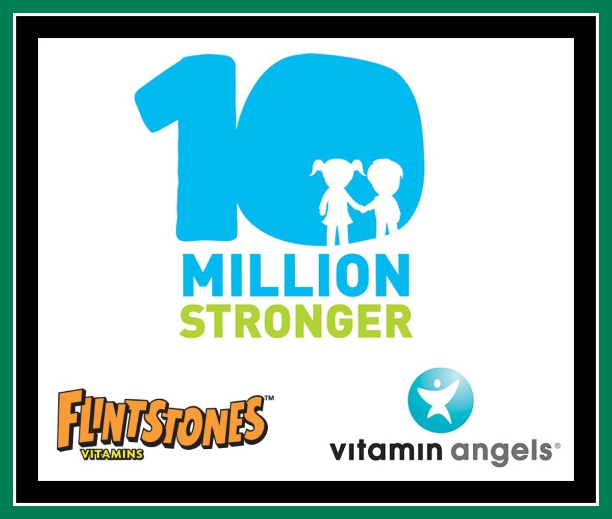 10 Million Stronger Logo Lockup