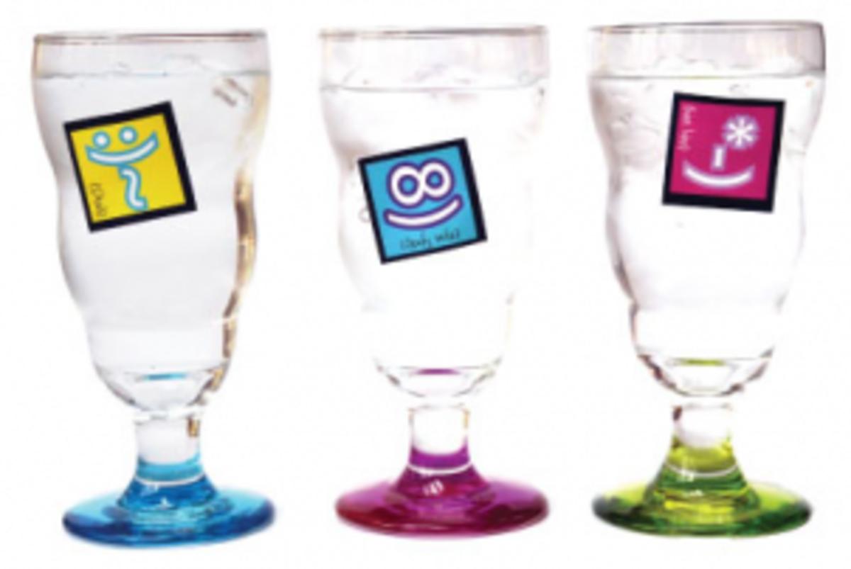 Emoticon Drink Label