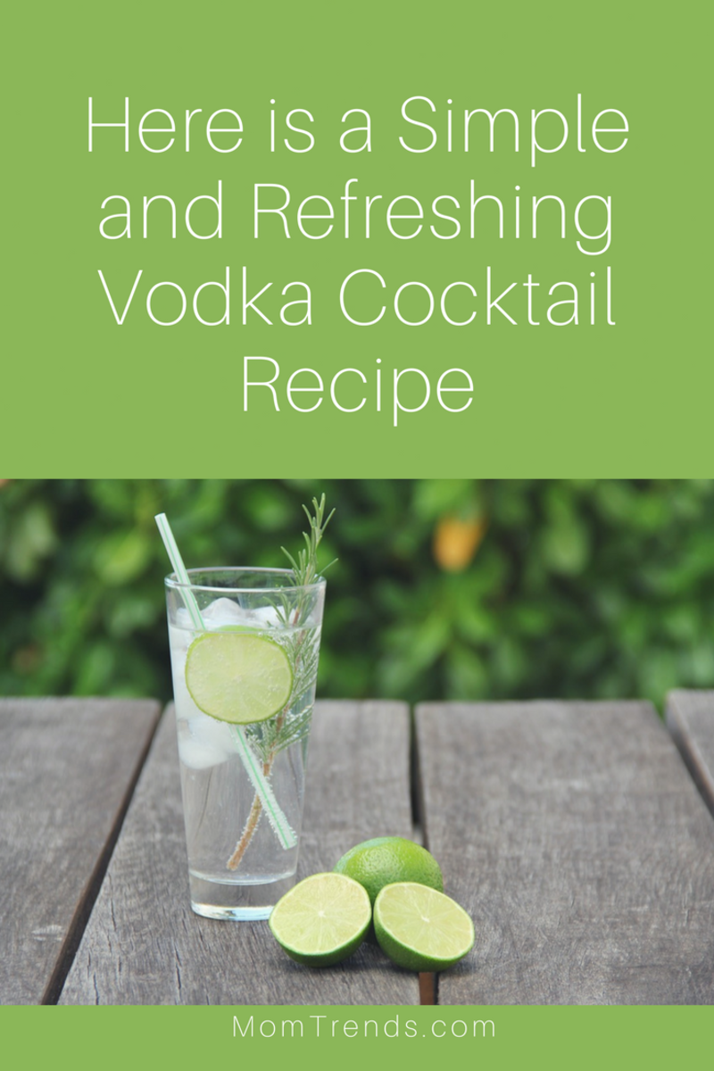 Here is a Simple and Refreshing Vodka Cocktail Recipe