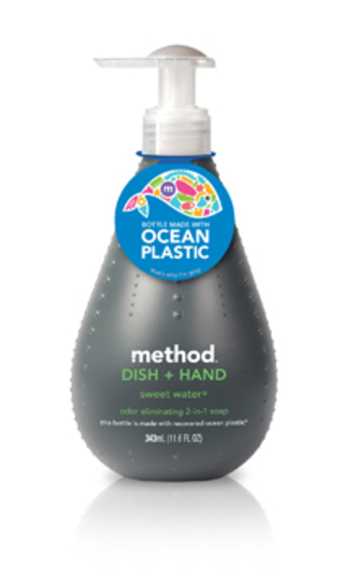Ocean Plastic bottle