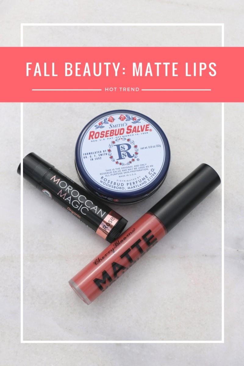 hot fall lip trend