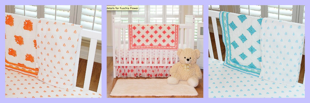 mayasri crib bedding
