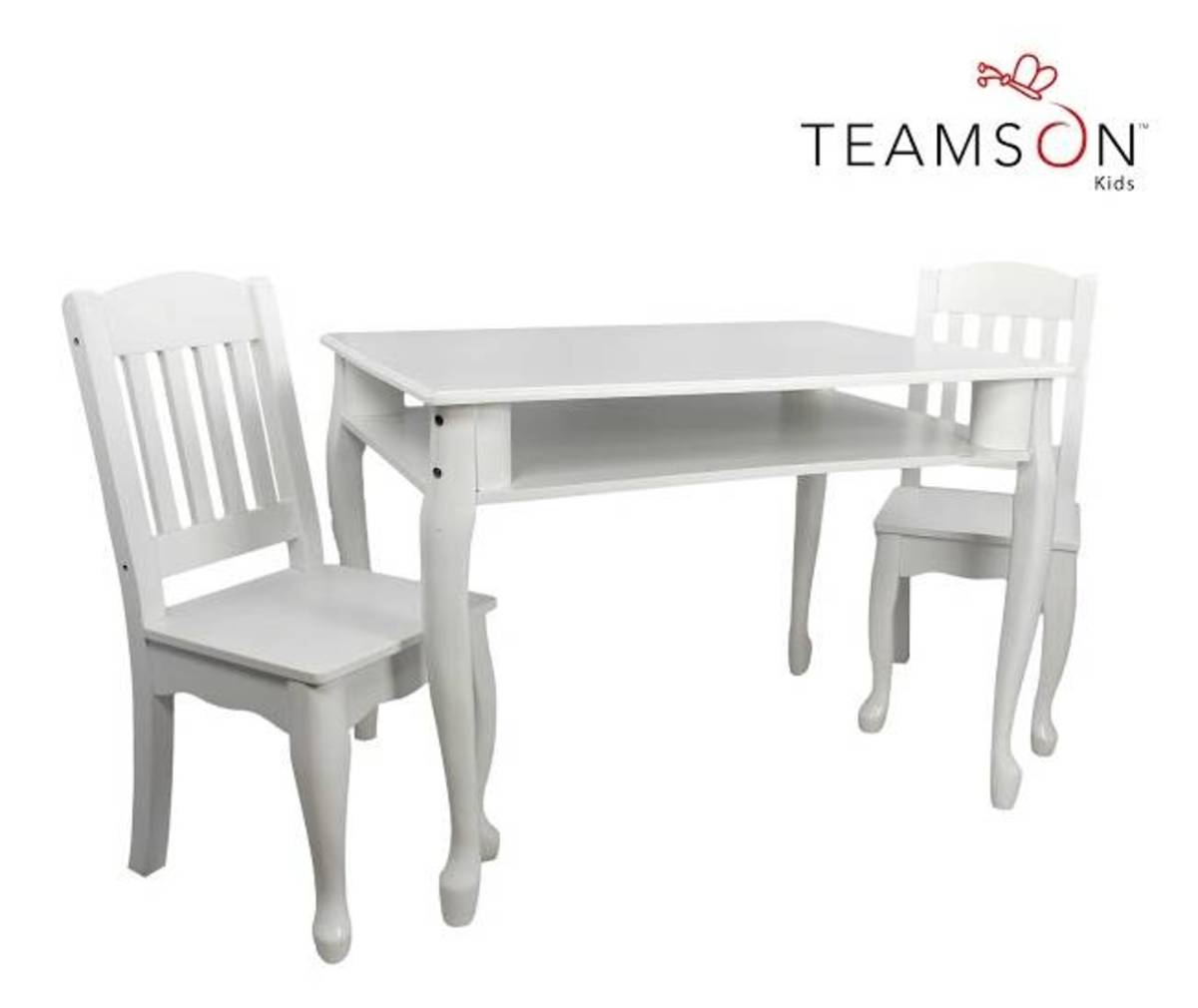 Windsor Table and Chairs-White