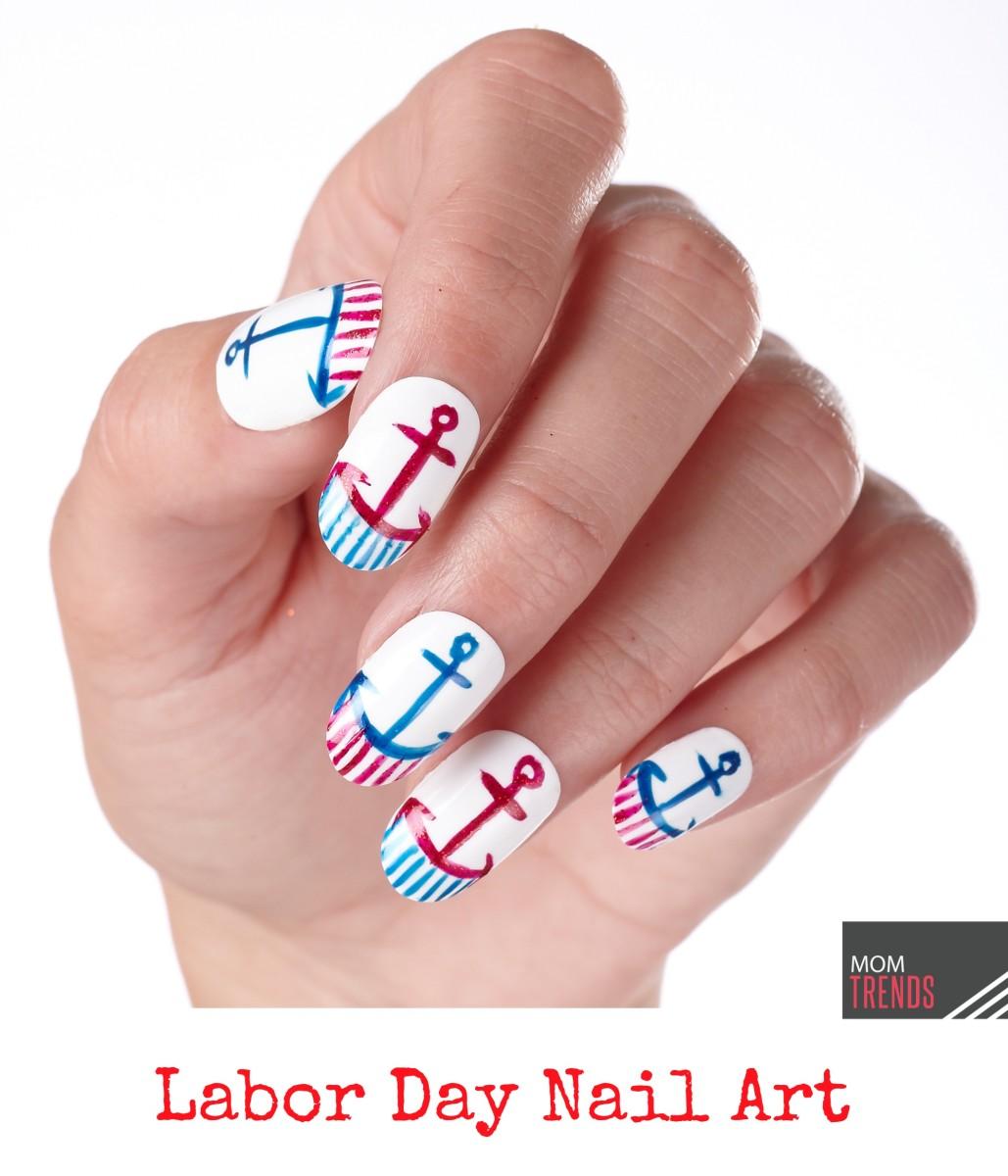 Labor Day Nail Art