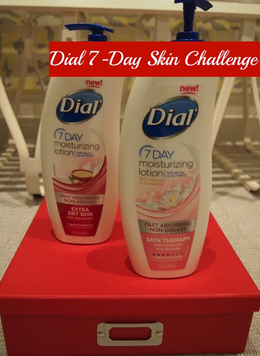 dial 7-day skin challenge