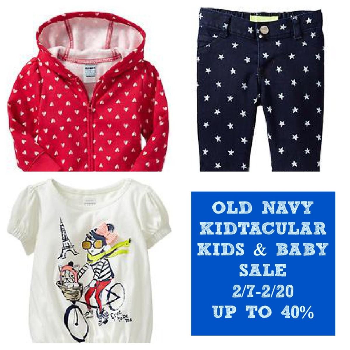 Old Navy Kids & Baby Sale Plus Pinterest Contest! - MomTrends