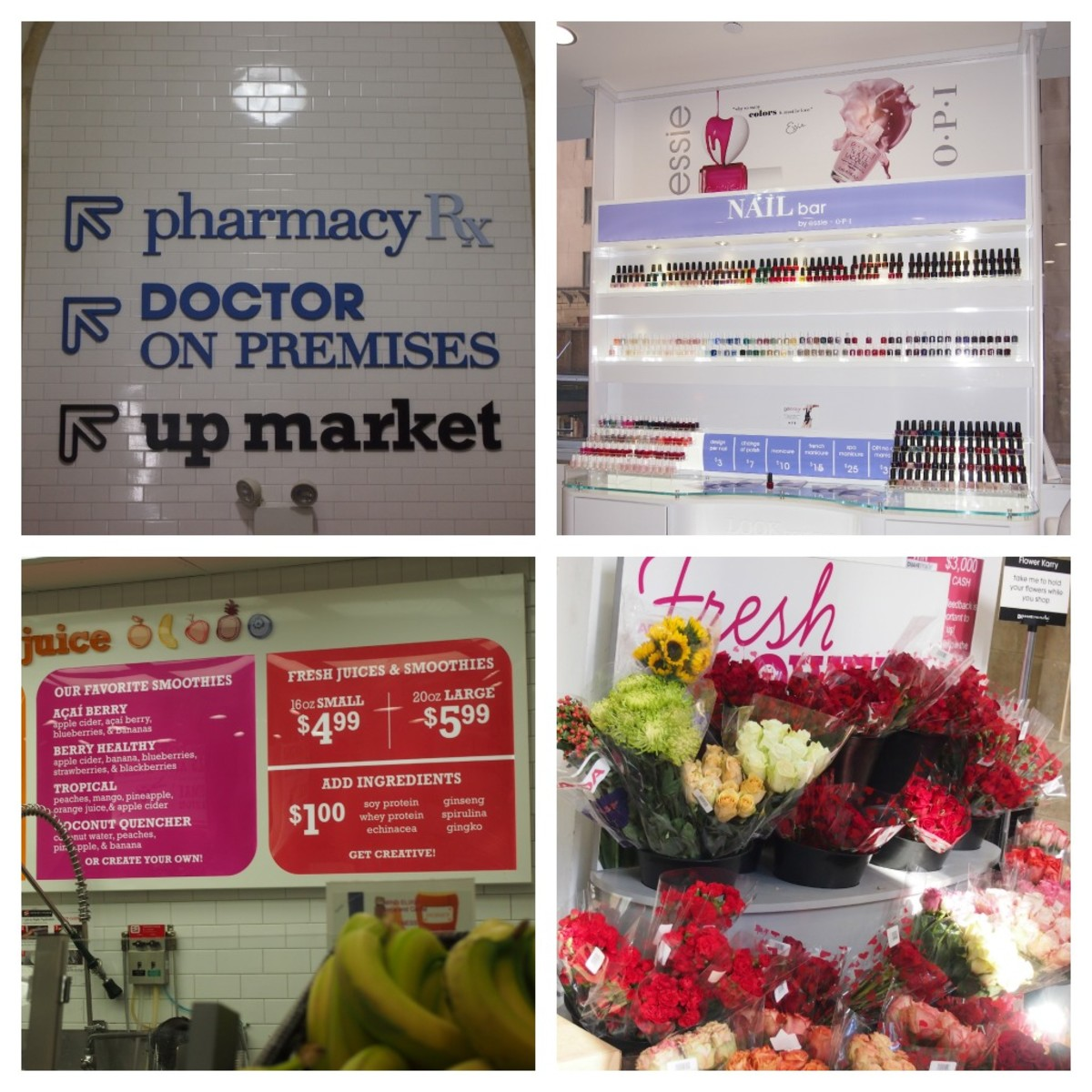 duane reade collage