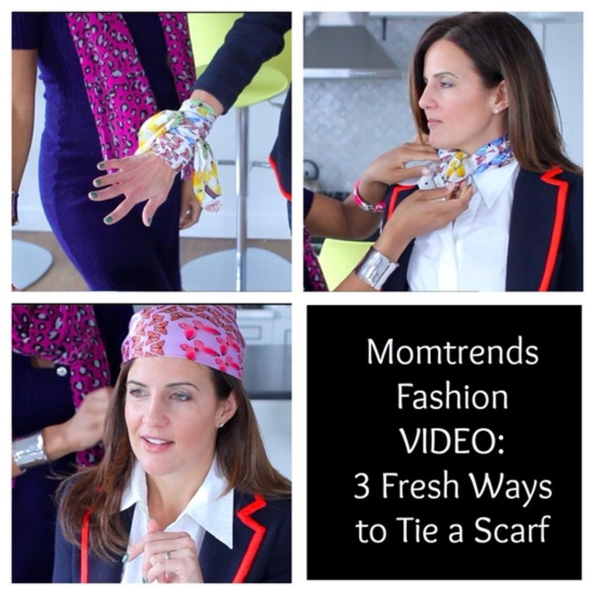 Fresh Ways to Wear Your Silk Scarves
