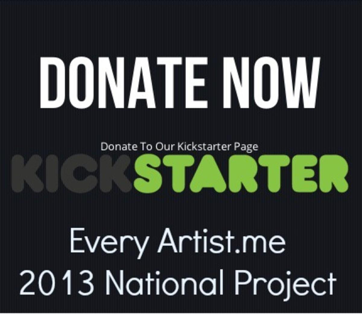 every artist kickstarter