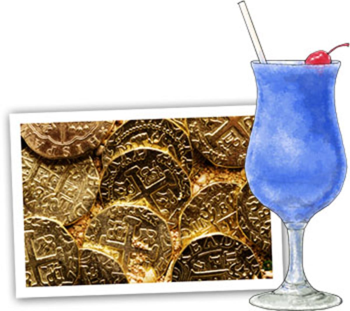blue pina coladas