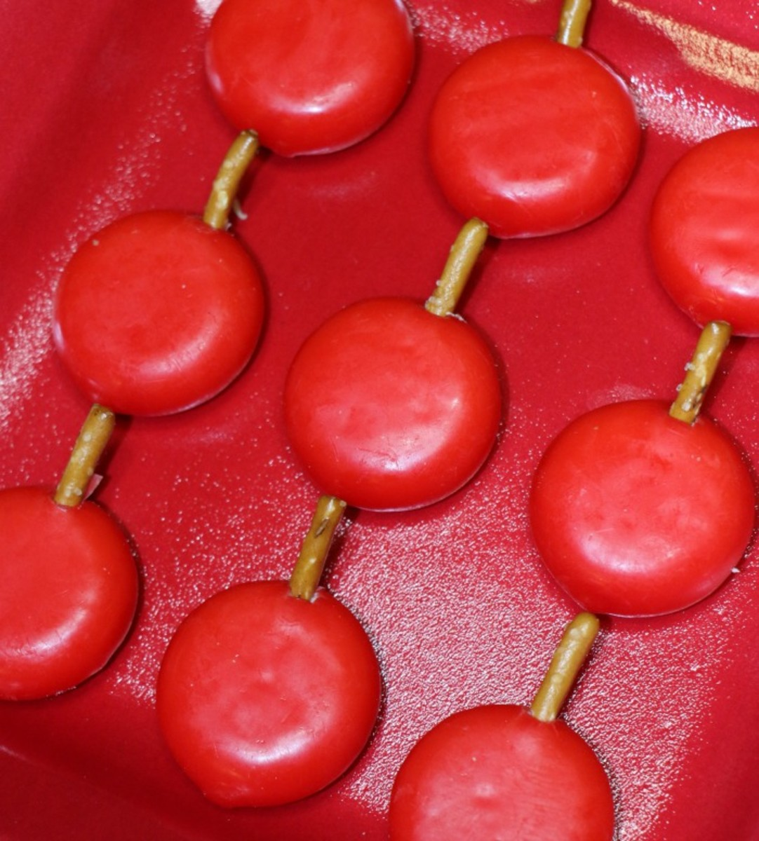 babybel apple treats