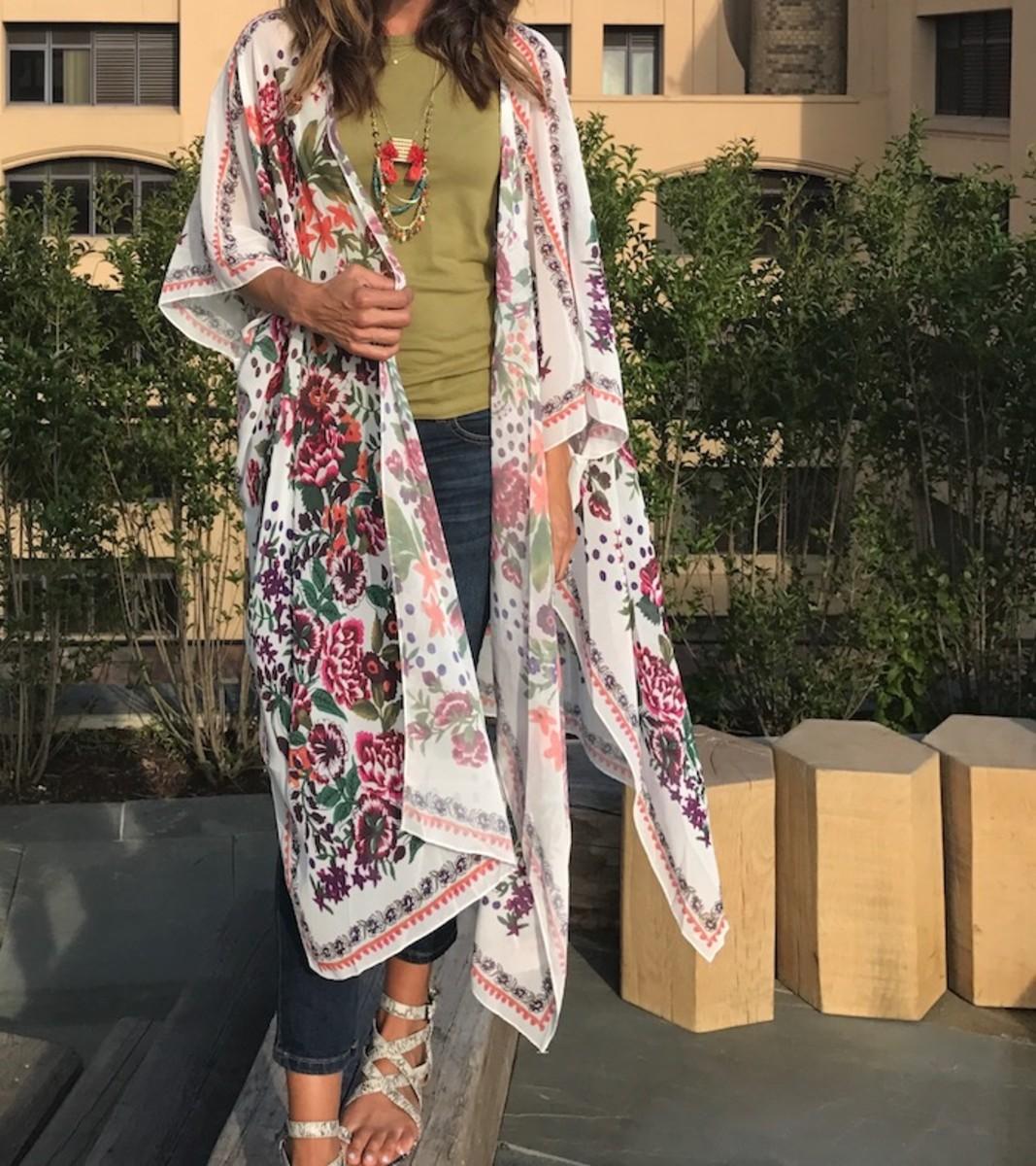 kimono wrap trend