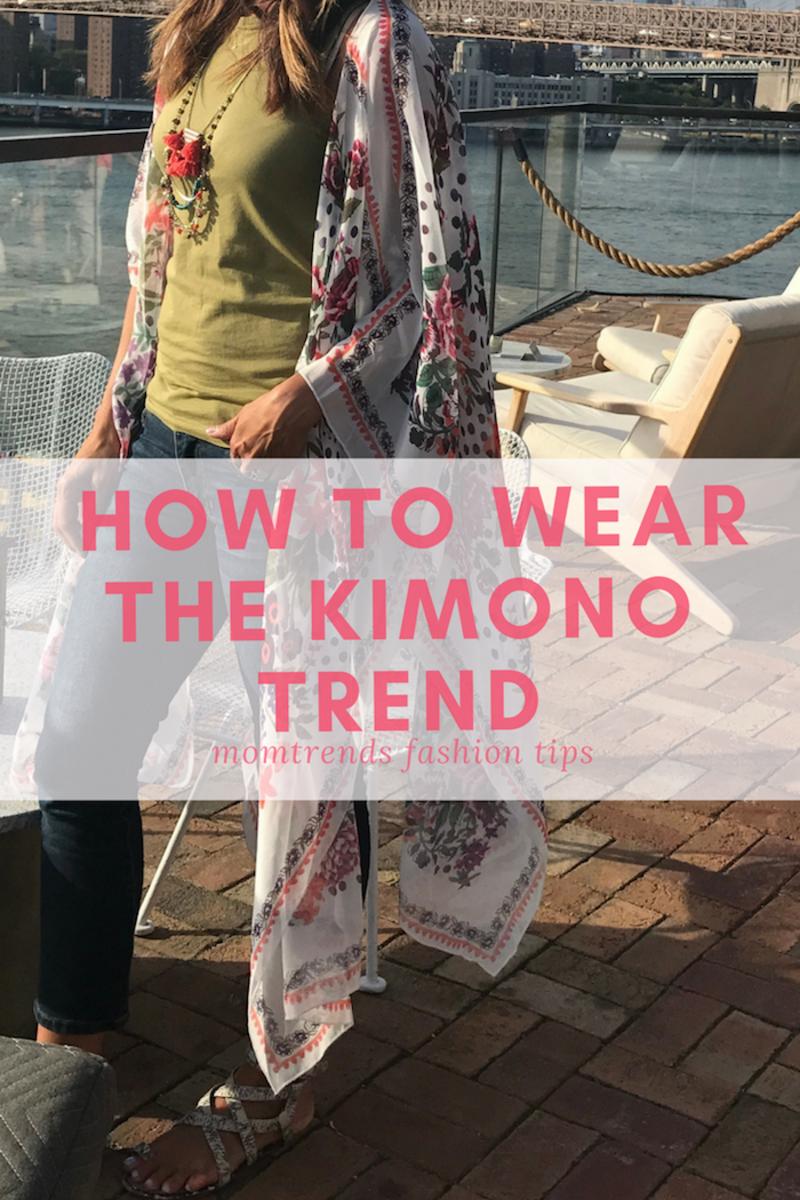 How to Wear the Kimono Trend