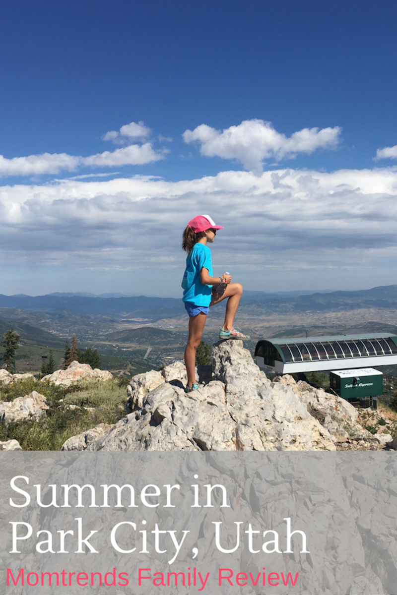Summer with the Family in Park City Utah