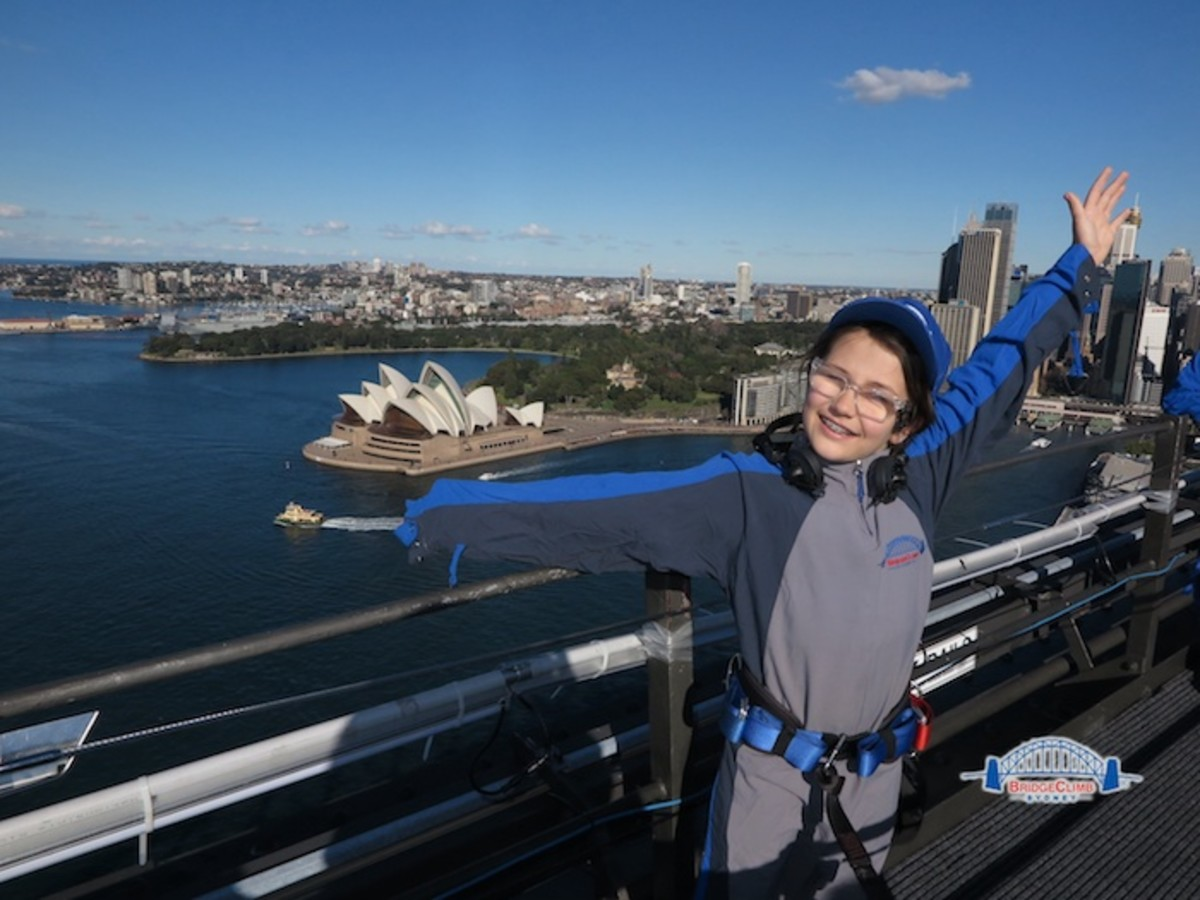 Soledad reviews sydney bridge climb