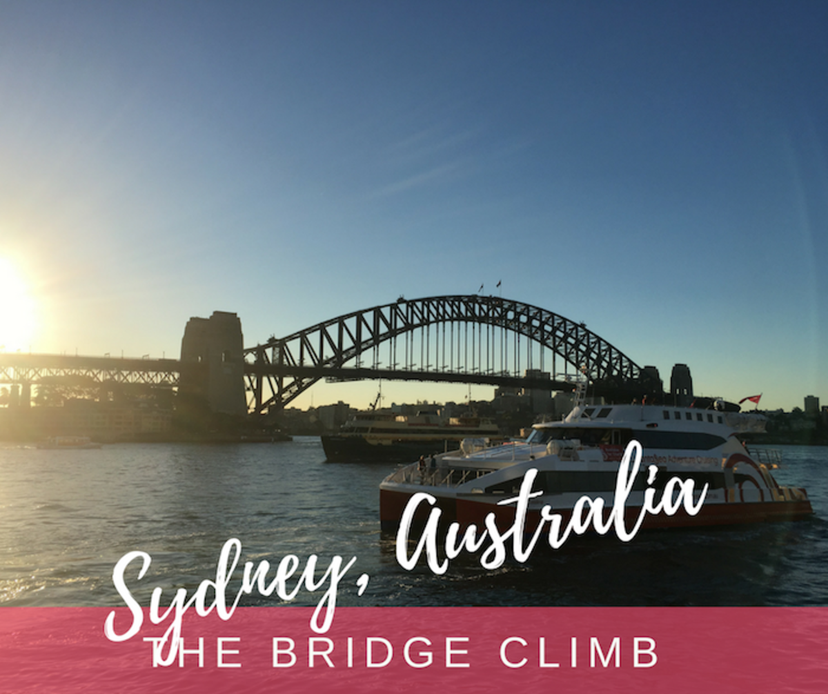 sydney bridge climb australia