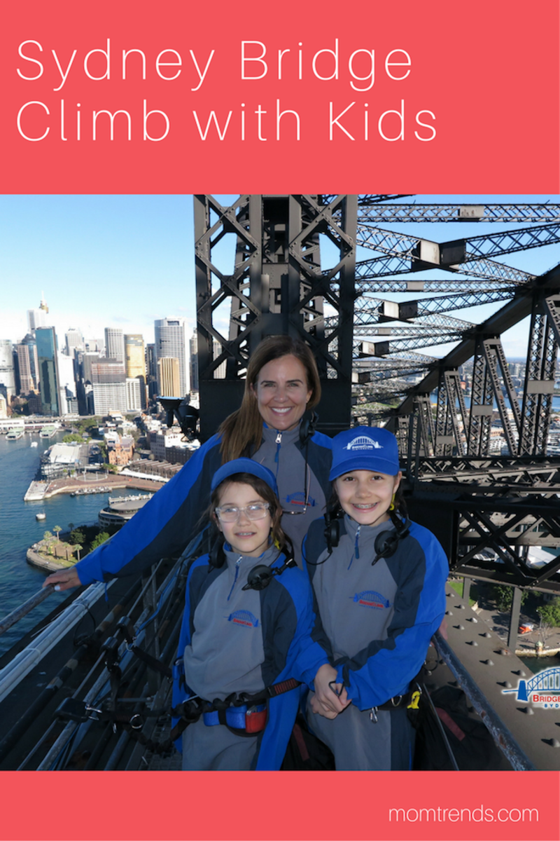 Sydney Bridge Climb with Kids plan your visit with these #familytravel tips