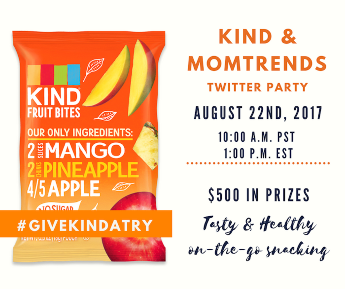 Better Fruit Snacks #giveKINDaTry Twitter Party