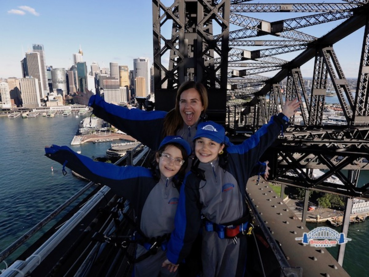 Sydney Bridge Climb with Kids