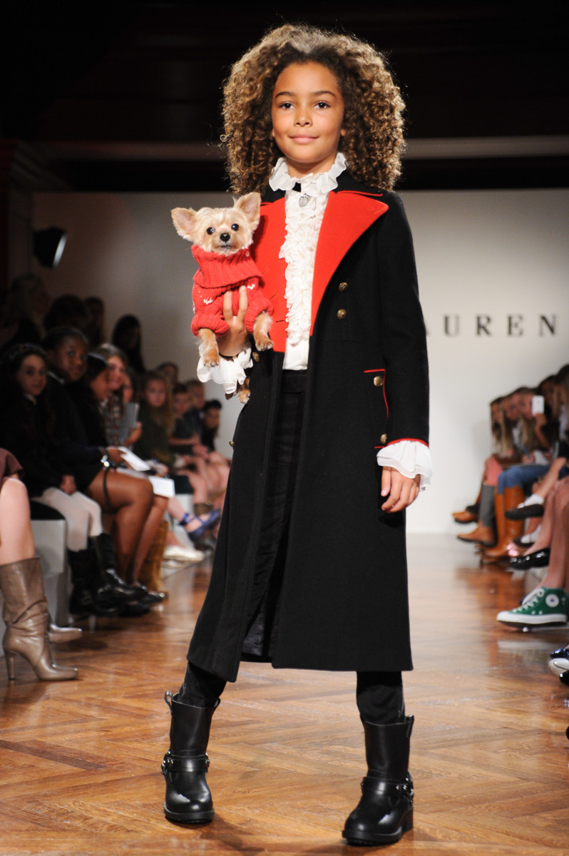 RALPH LAUREN Girls Fall & Holiday 2011 Fashion Show