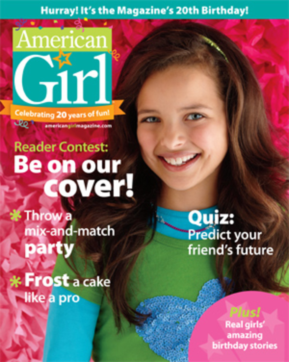 american girl cover contest