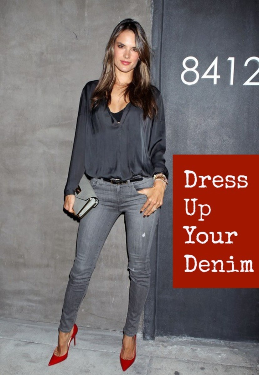 dress up your denim