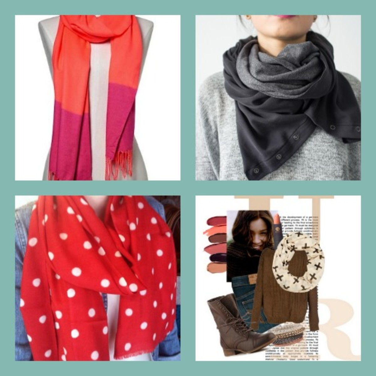 Momtrends reviews the latests scarves