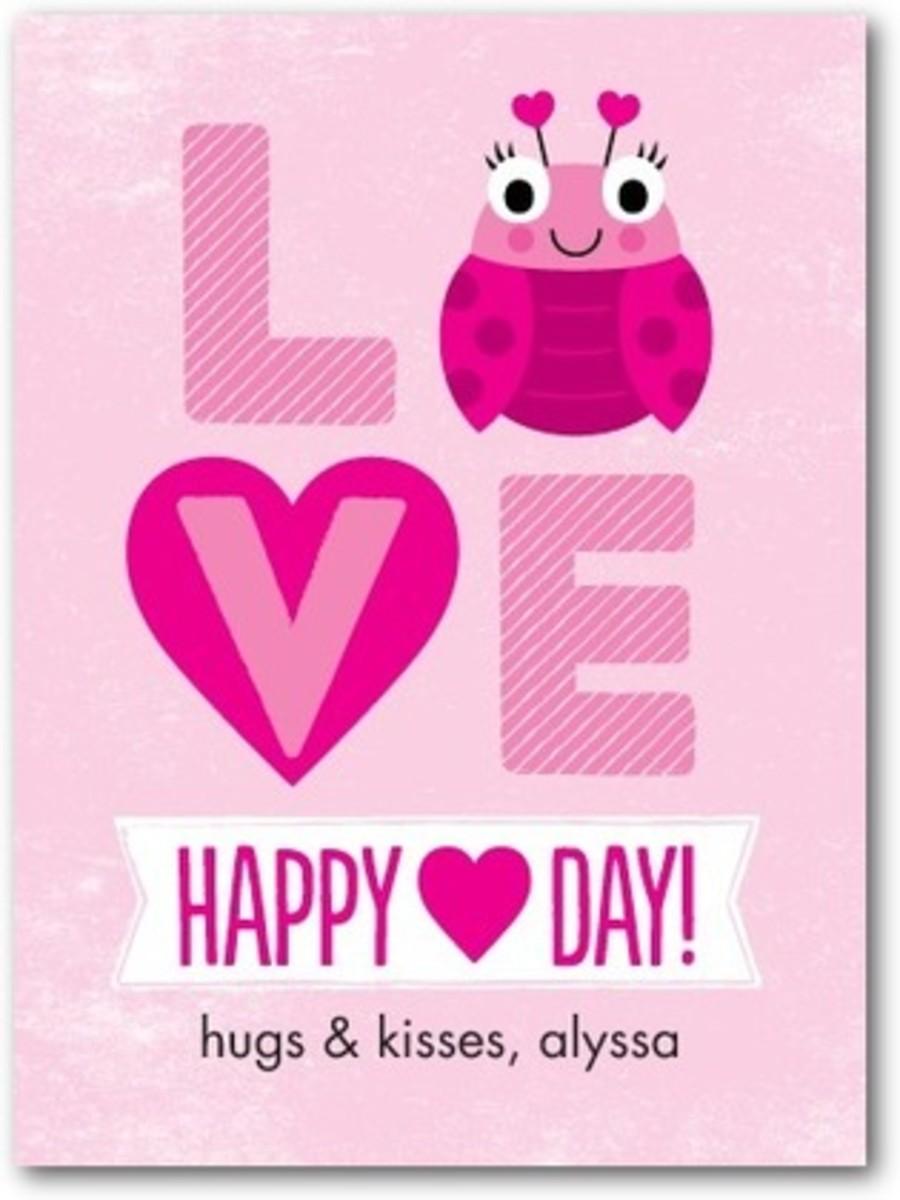 bug valentines' for kids