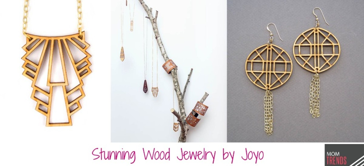 Stunning Wood Jewelry by Joyo
