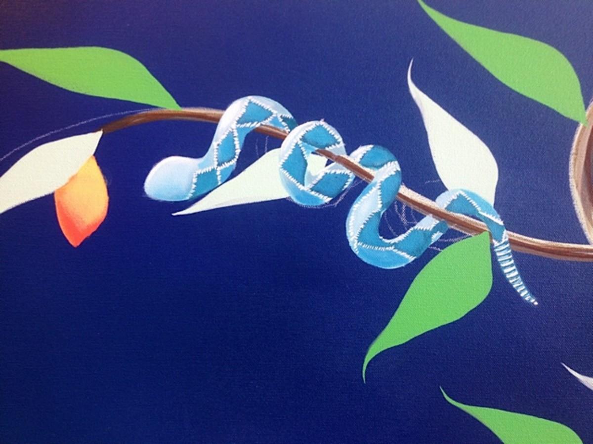 sam simon painting details