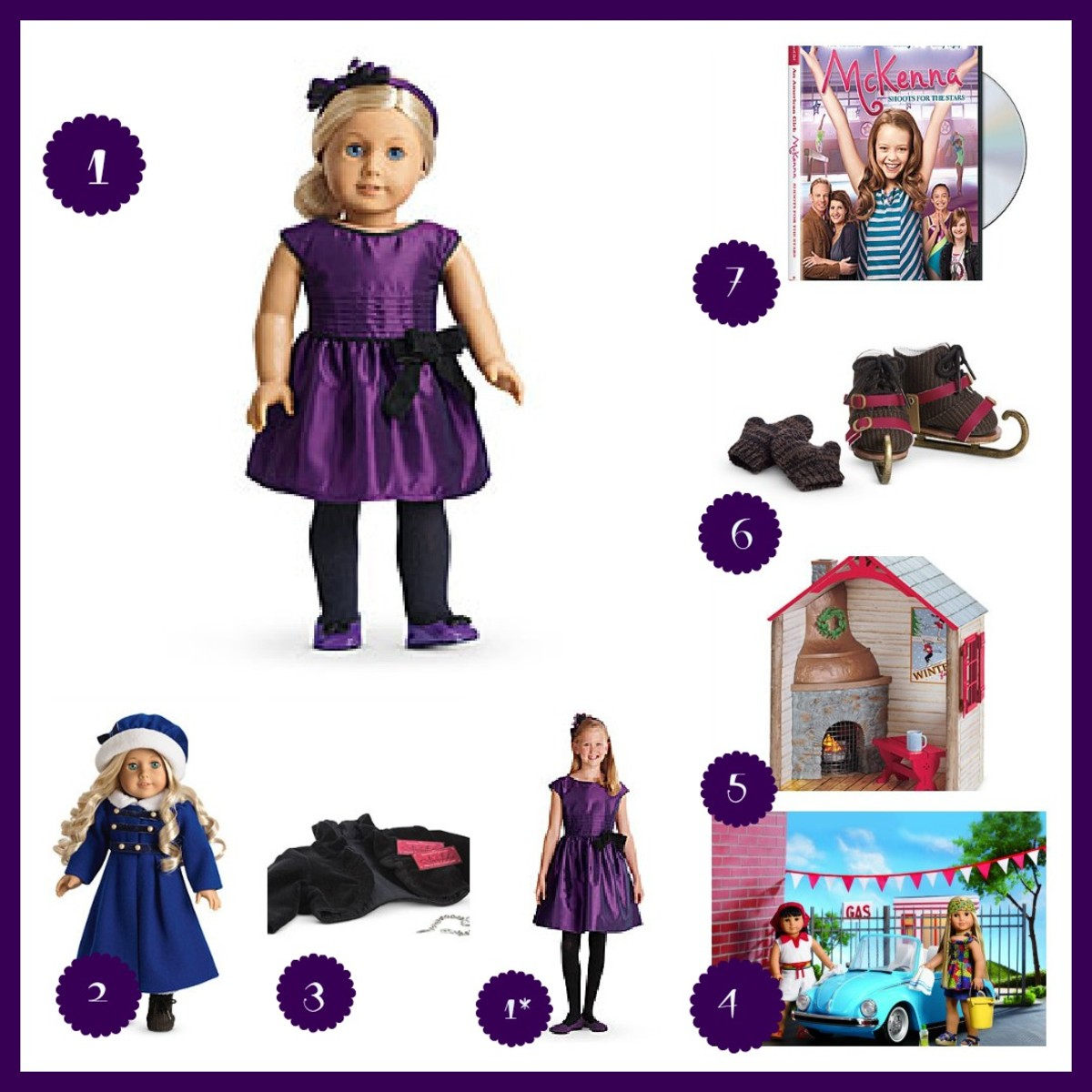 top 7 american girl gifts