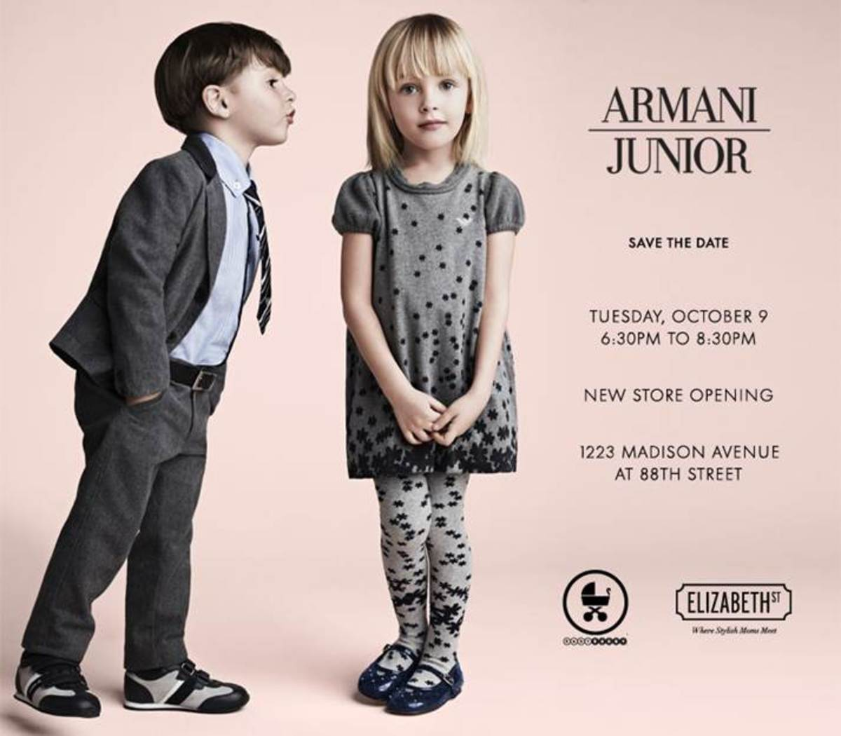 Armani Junior Invite