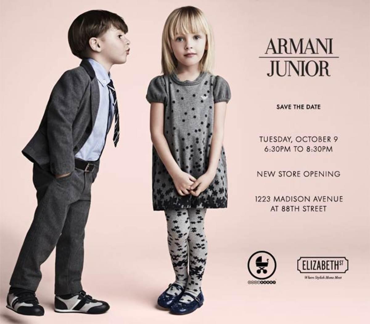 Armani Junior Invite