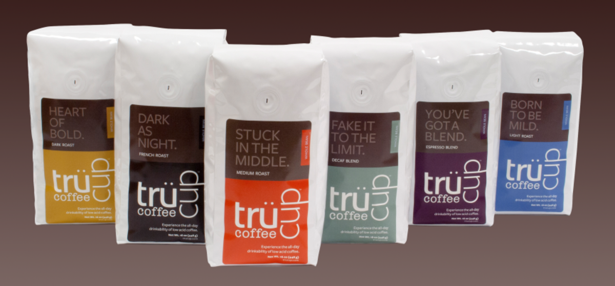 trucup  low acid coffee