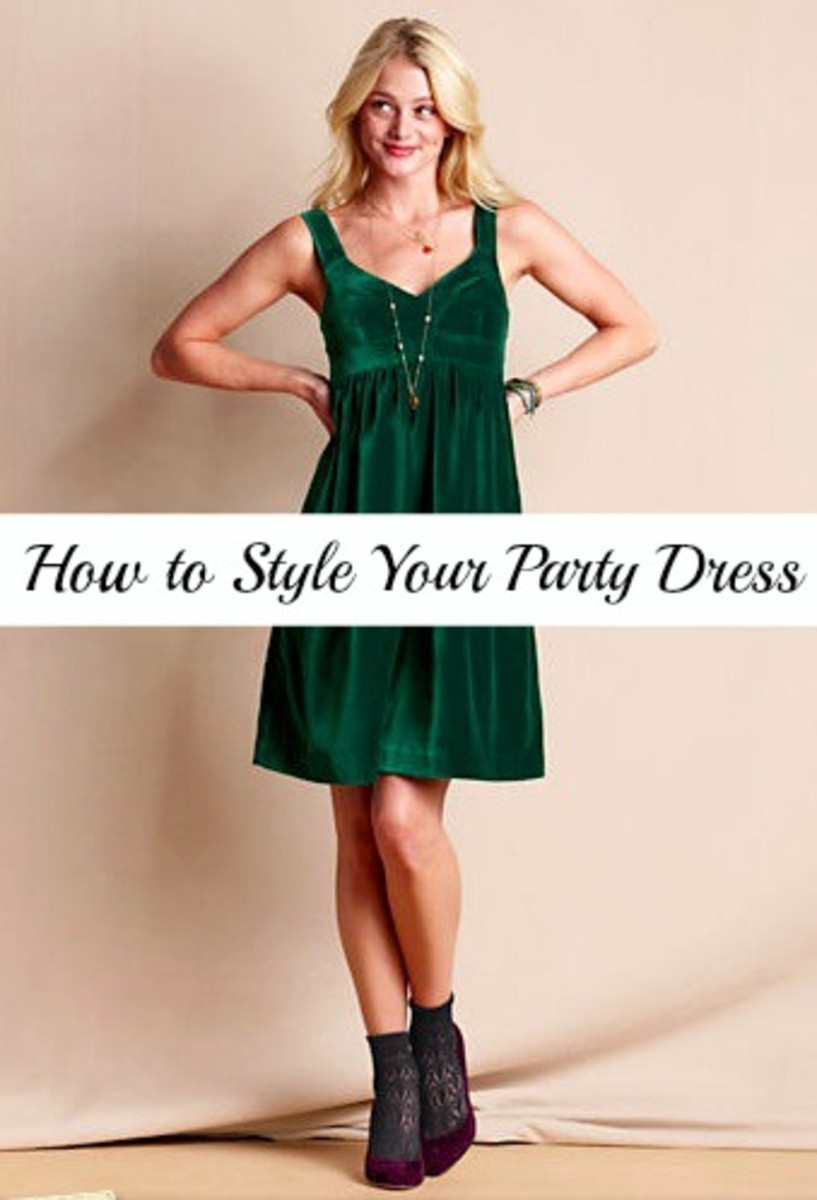 accessorize your party dress