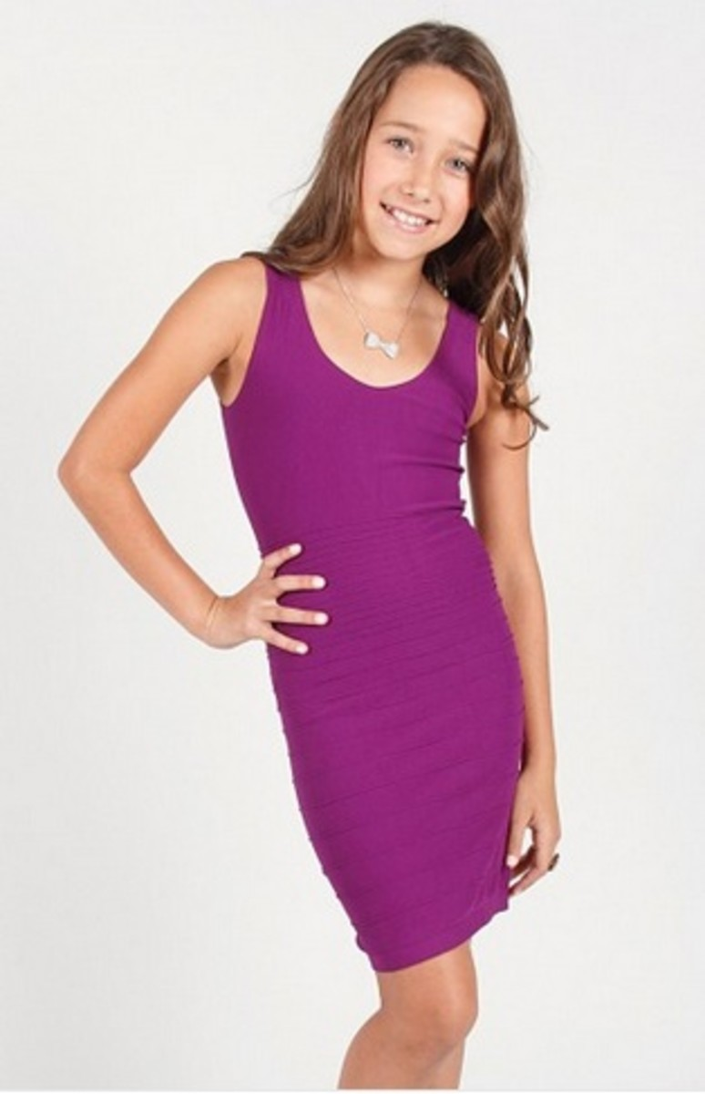 purple dress for girls