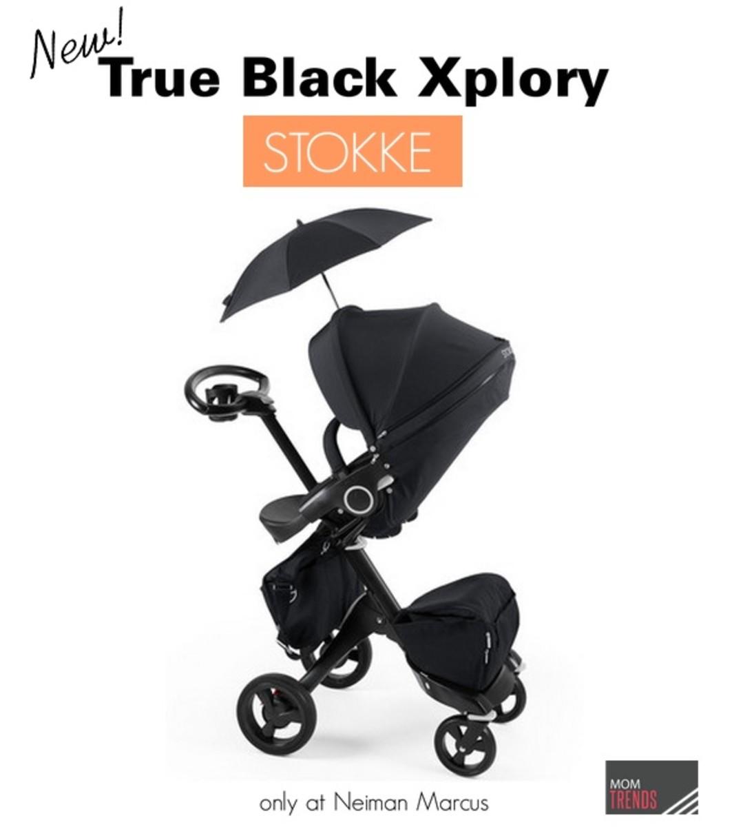 Stokke True Black Xploy Stroller lead
