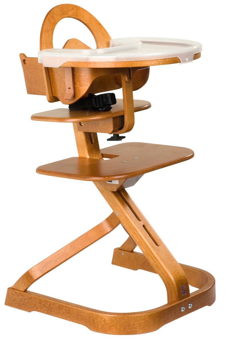Svan-High-Chair-Cherry-with-Tray-HR