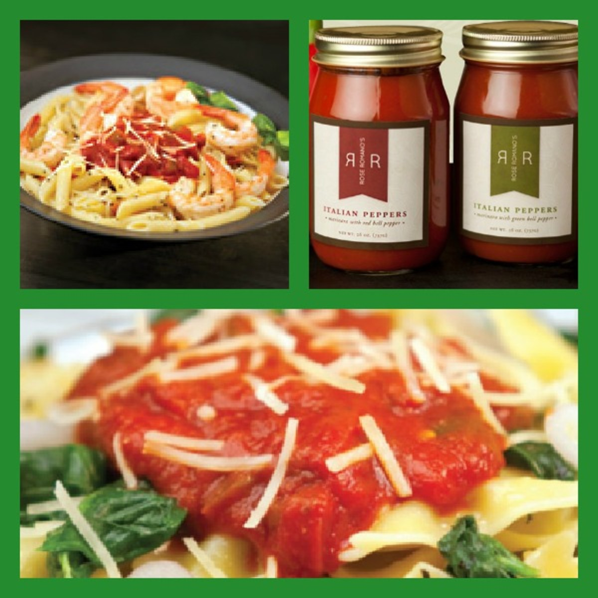 Cooking with Rose Romano's Italian Toppings