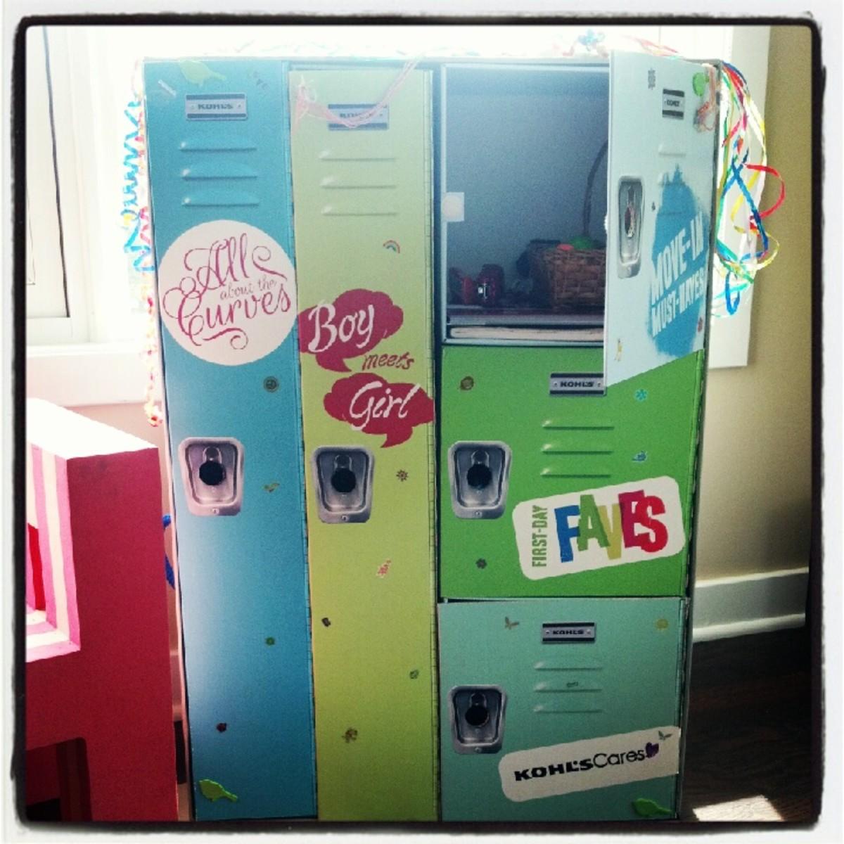 kohl's locker box