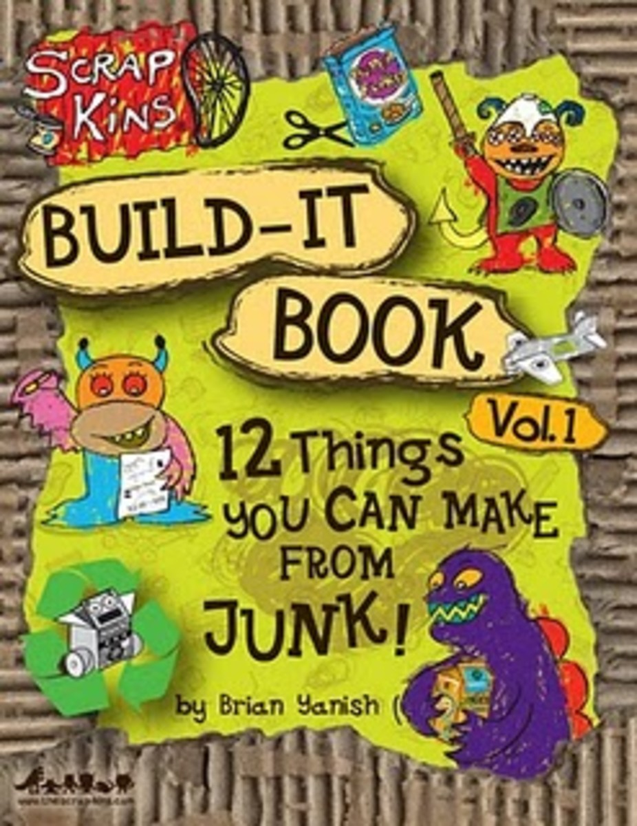 Scrapkins Build-It Book